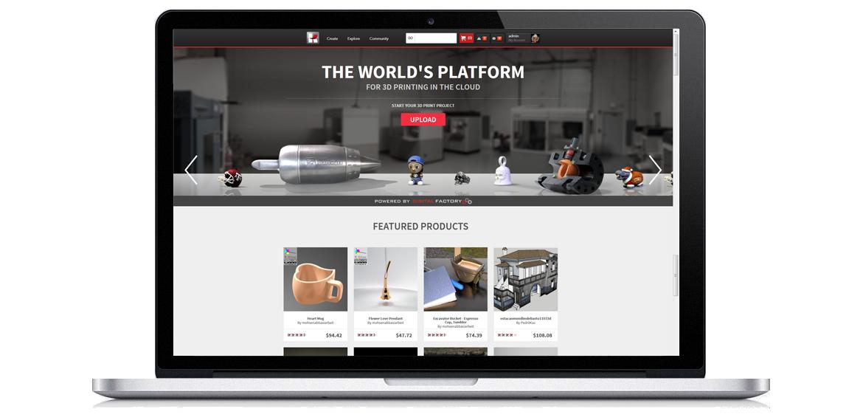 3d printing website templates. Black Bedroom Furniture Sets. Home Design Ideas